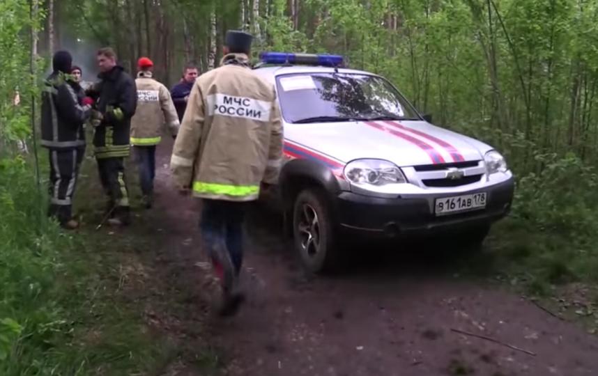 Поиски 54-летней петербурженки и месячной девочки. Фото Все - скриншот Youtube