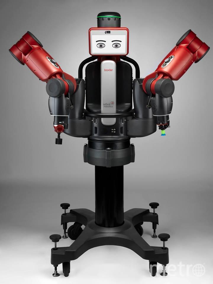 Робот Бакстер. Фото официальный сайт робота