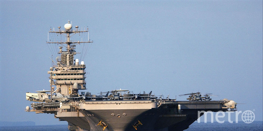USS Abraham Lincoln. Фото Getty
