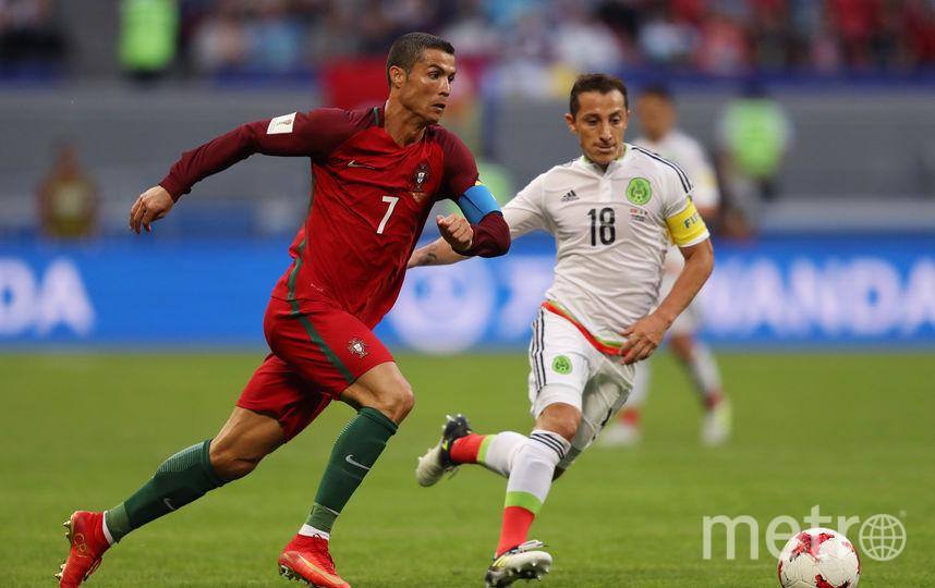Роналду ушел с поля без забитого гола. Фото Getty