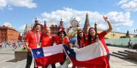 Чилийские болельщики прогулялись с Metro и сравнили Москву с Сантьяго