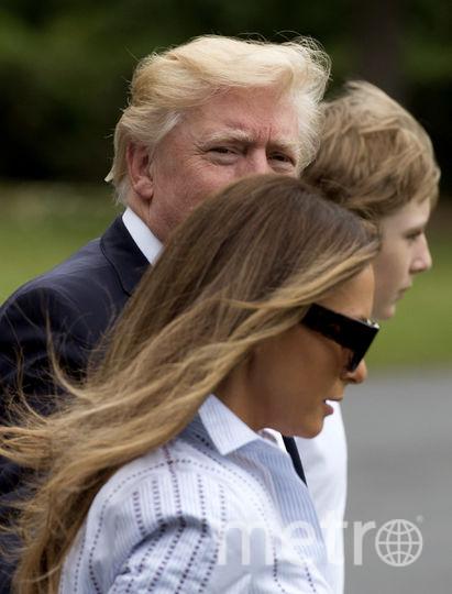 Папарацци рассмотрели новые наряды Мелании Трамп в Кэмп-Дэвиде. Фото Getty