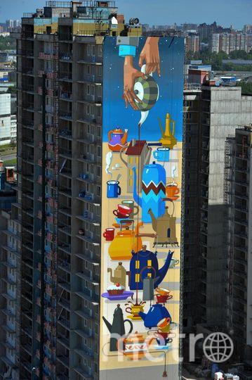 """Уже сейчас сданы и заселены пять корпусов ЖК «Граффити». Фото Святослав Акимов, """"Metro"""""""
