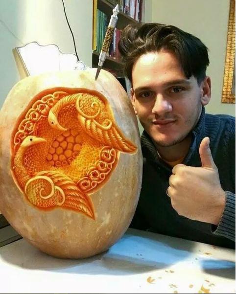 Творение Даниэля. Фото Скриншот Instagram/danielebarresi_artist