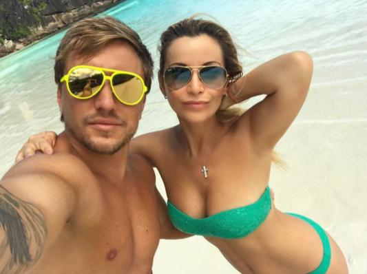 Ольга Орлова с Евгением Кривенко. Фото Instagram Ольги Орловой.