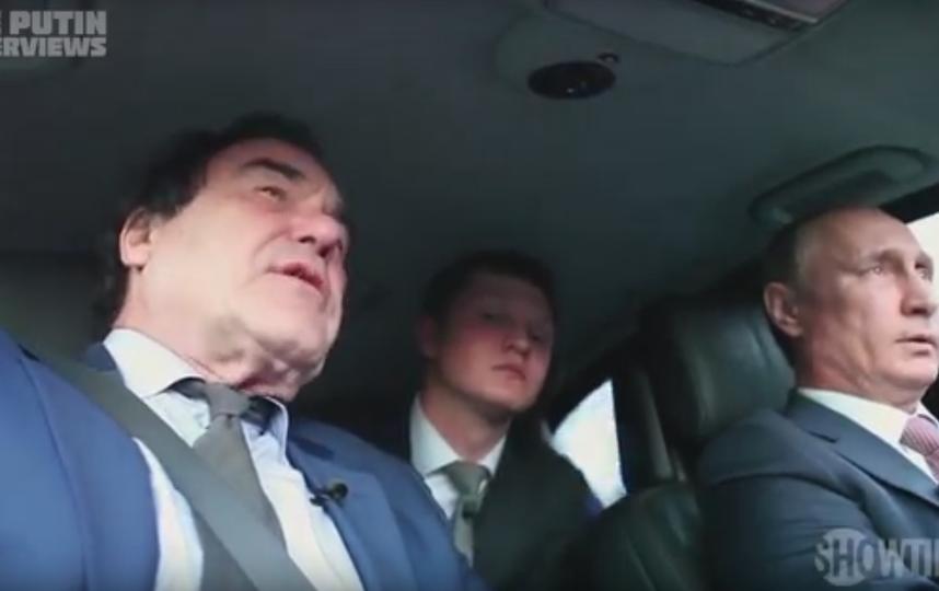 """Кадр из фильма Оливера Стоуна """"Интервью с Путиным"""". Фото Скриншот Youtube"""
