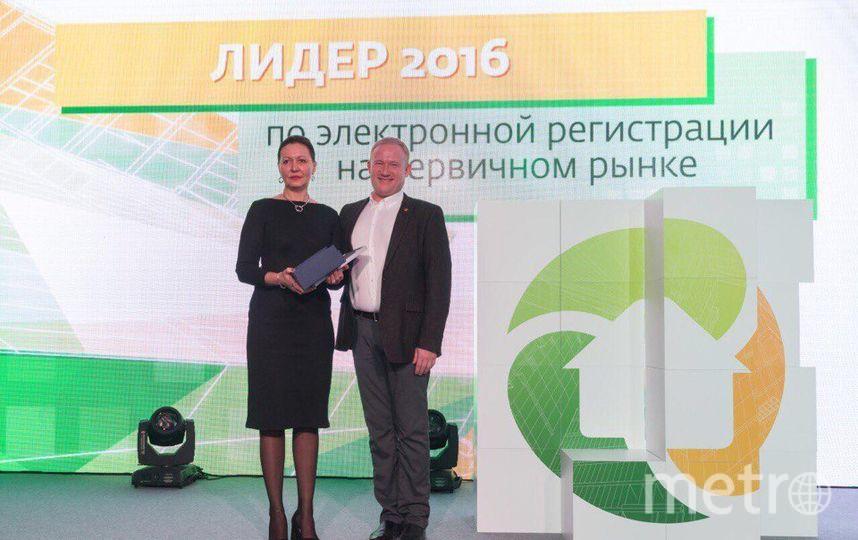 СК Петрострой - лидер по Электронной регистрации на первичном рынке 2016.