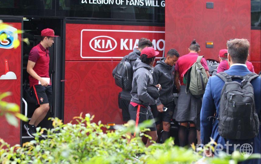 Сборная Португалии по футболу прибыла в Москву. Фото Василий Кузьмичёнок