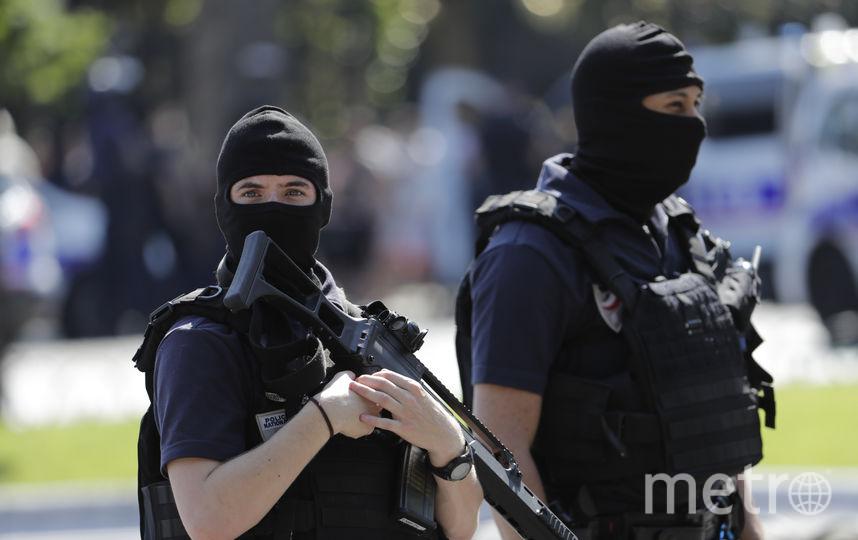 Инцидент в Париже. Фото AFP