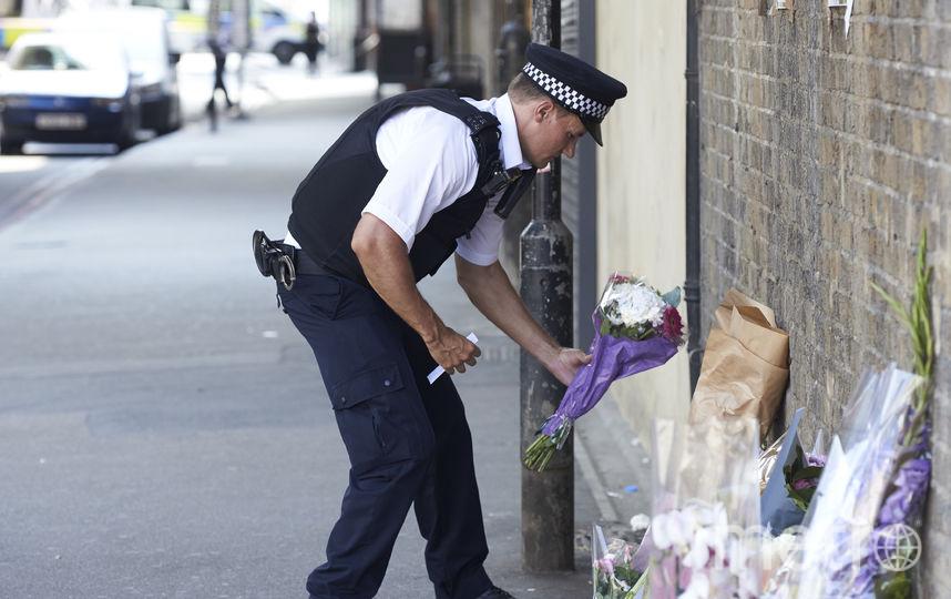 Место происшествия в Лондоне. Фото AFP