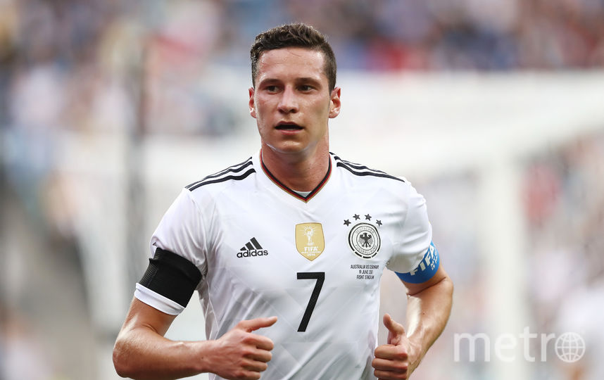 Капитан сборной Германии Юлиан Дракслер. Фото Getty