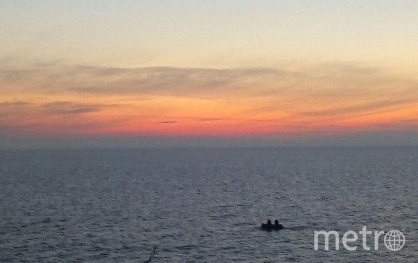 На Ладожском озере перевернулась лодка с пятью подростками. Фото Архив Metro