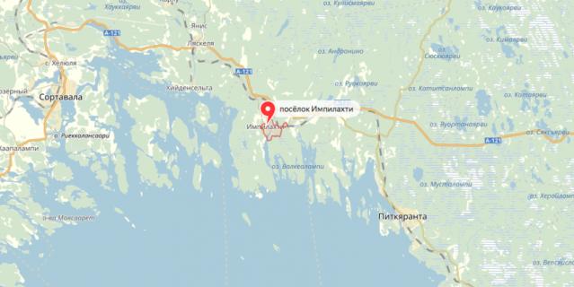 Все случилось 19 июня в заливе Импилахти Питкярантского района.