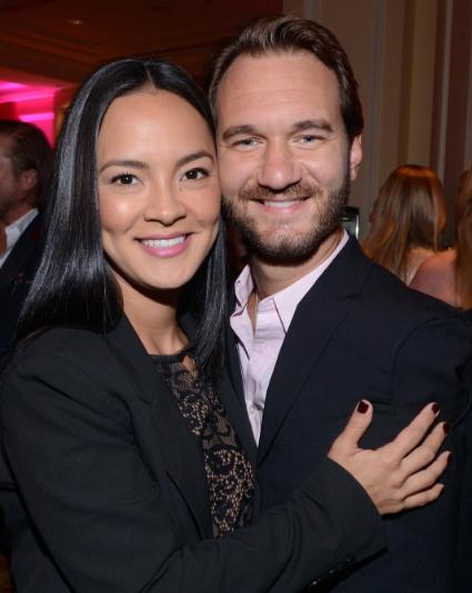 Ник Вуйчич с женой Канаэ. Фото Instagram Вуйчича