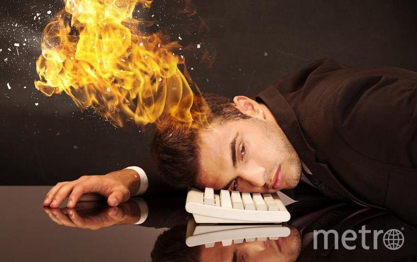 Выгорание вполне может перейти в проблемы со здоровьем | pressfoto.