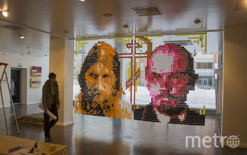 Ленин и Распутин. Фото Александр Жунев