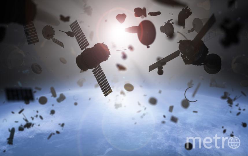 Космический мусор. Фото iStock