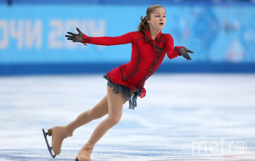 Юлия Липницкая на Олимпиаде в Сочи. Фото скриншот с официального Instagram Юлии Липницкой