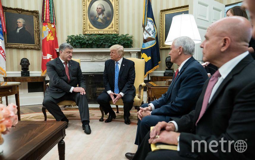 Трамп: спрезидентом Порошенко унас состоялась «очень хорошая дискуссия»