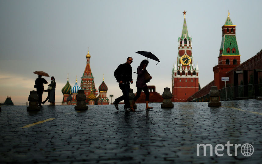 В Москве до вечера объявлено штормовое предупреждение. Фото Getty