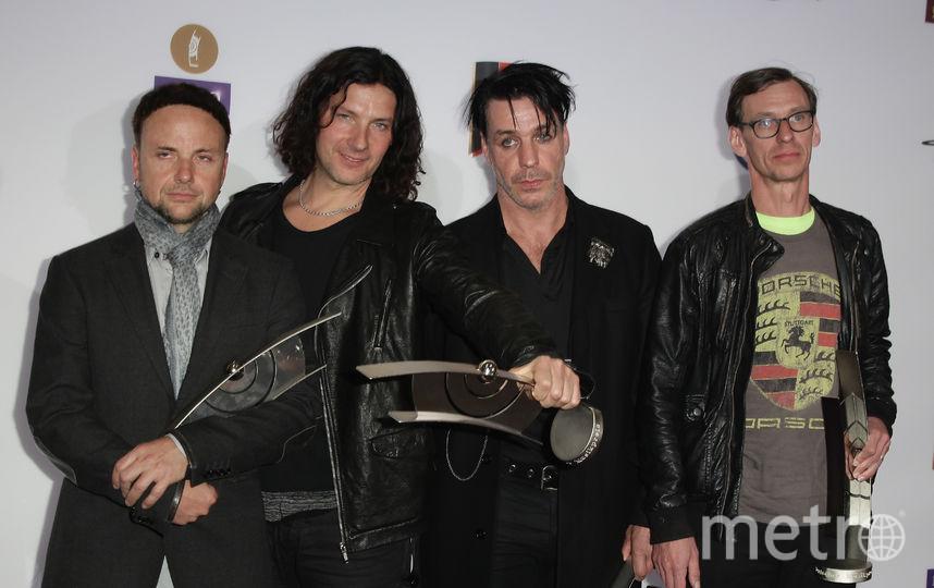 Вокалист и автор текстов культовой немецкой группы Rammstein. Фото Getty