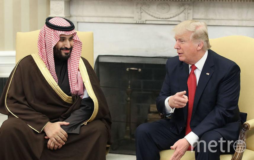 Мухаммед бен Сальман и Дональд Трамп. Фото Getty