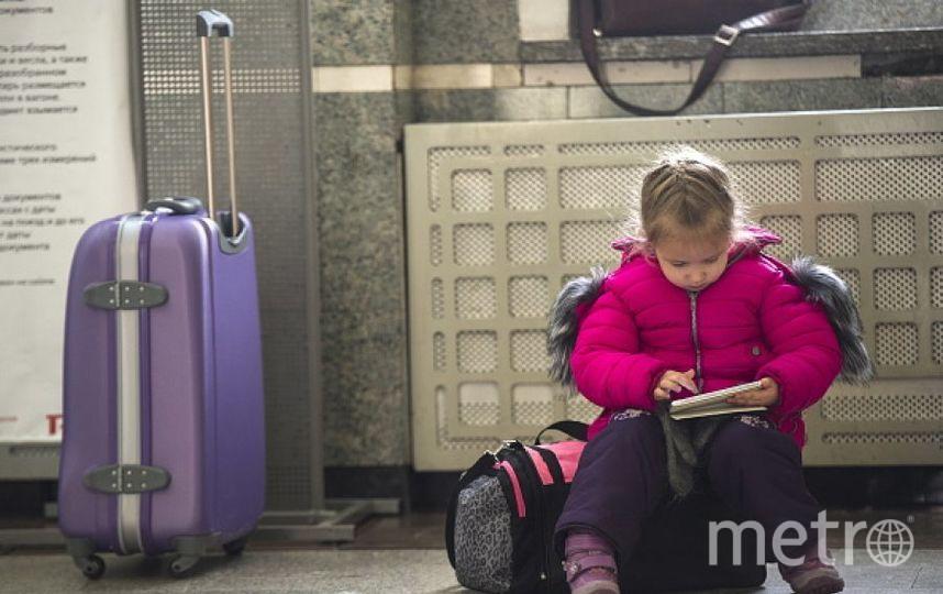 Девочка согромным чемоданом хотела отдельно уехать изСочи вКалининград
