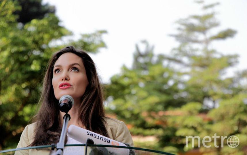 Анджелина Джоли в Кении, 2017. Фото Getty