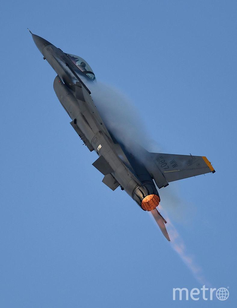 Истребитель F-16. Фото Getty