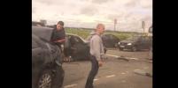 В Ленобласти столкнулись четыре машины: есть пострадавший
