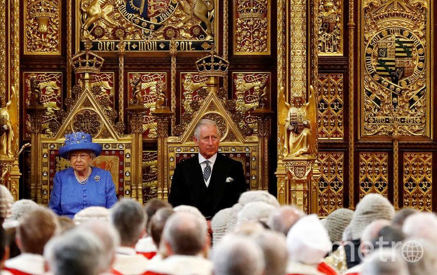 Елизавета II произнесла тронную речь. Фото Getty