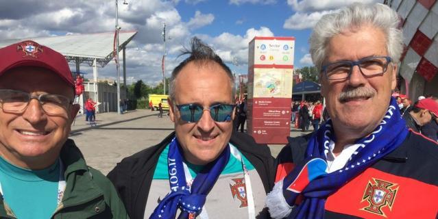 Болельщики матча Россия – Португалия.