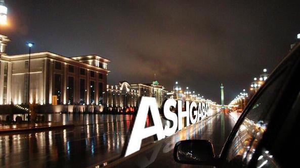 Ашхабад. Фото Instagram @turkmenistangram