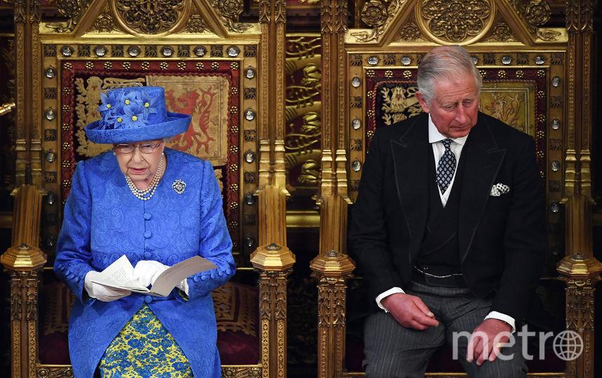Елизавета II произнесла тронную речь. Фото AFP