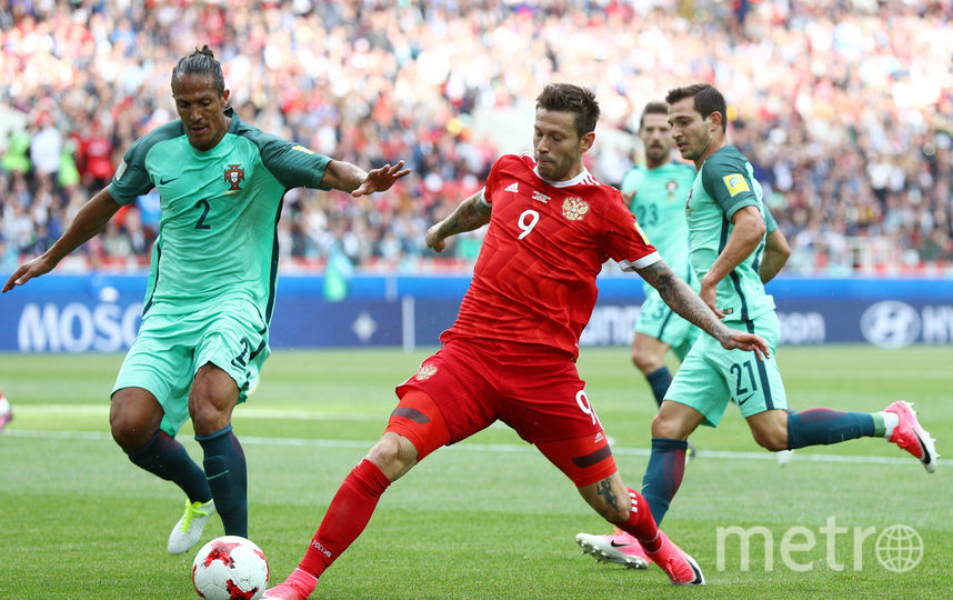 Защитник сборной Португалии по футболу Бруну Алвеш. Фото Getty