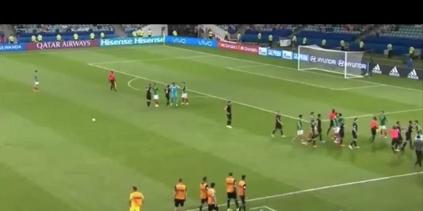 Игра завершилась победой сборной Мексики со счетом 2:1. Фото Скриншот Youtube
