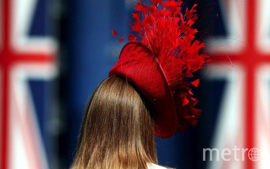 Невероятные шляпки надели дамы на скачки в Аскоте. Фото Getty