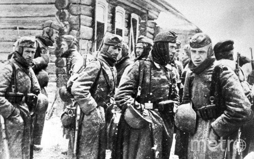 Немецкие солдаты под Москвой, ноябрь-декабрь 1941 года. Фото ТАСС