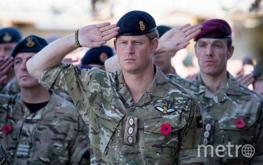 Принц Гарри на службе в армии. Фото Getty
