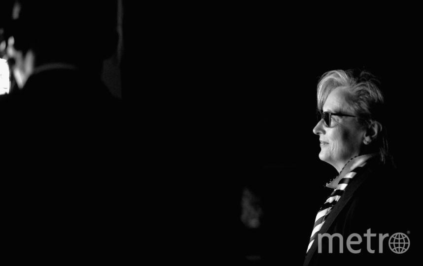 Мэрил Стрип за кулисами Театра Долби, где прошёл 45-ый гала-вечер Премии Американского института киноискусства за прижизненные достижения. Фото AFP