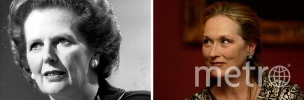 Маргарет Тэтчер и Мэрил Стрип. Фото Getty