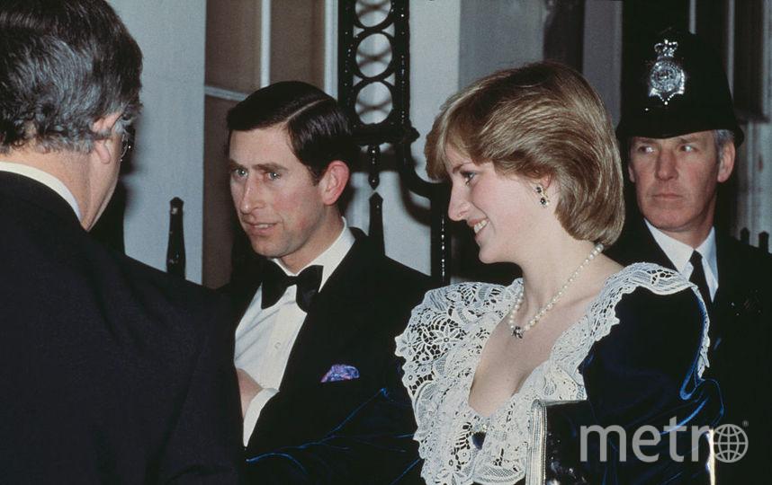Принцесса Диана с принцем Чарльзом. Фото Getty