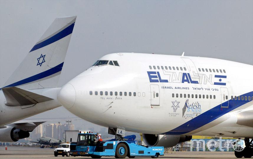 Самолёт авиакомпании El Al. Фото Getty