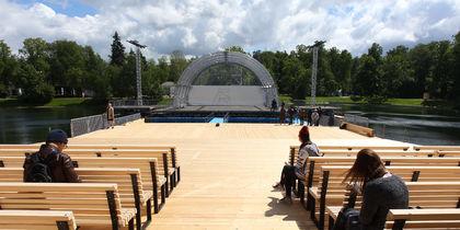 В Москве открывается концертная площадка на воде