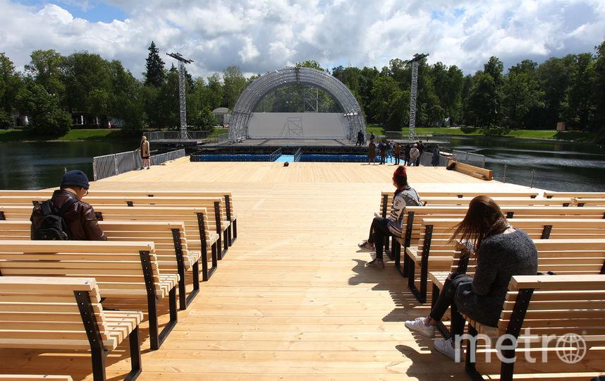 В столицеРФ открывается концертная площадка наводе