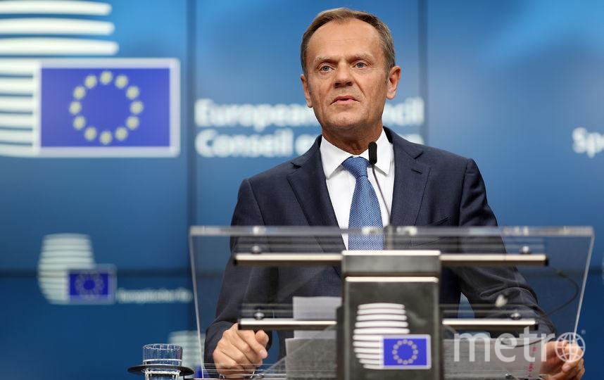 Председатель Евросовета Дональд Туск. Фото Getty