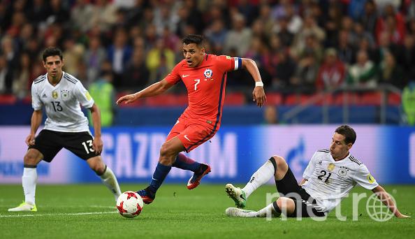 Алексис Санчес забил важный мяч. Фото Getty
