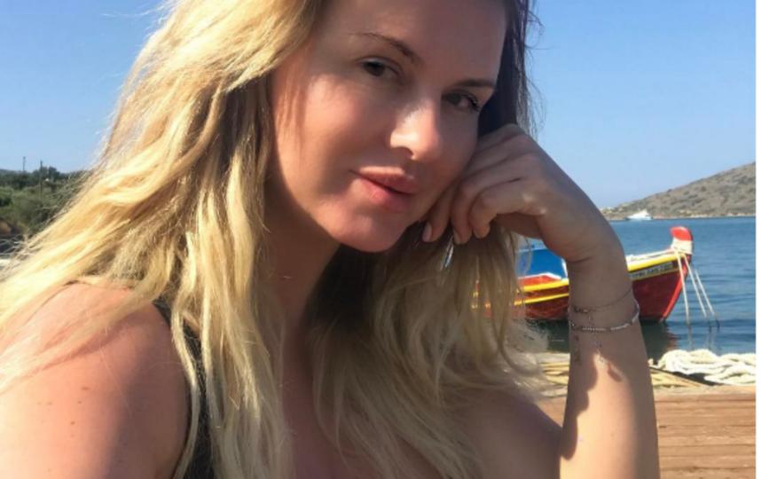 Анна Семенович на отдыхе. Фото Все - скриншот Instagram