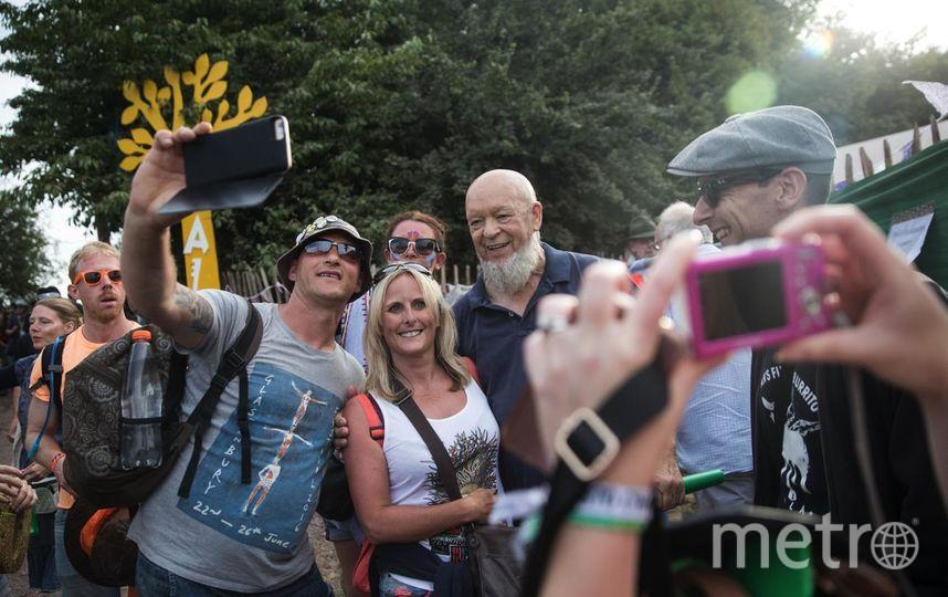 Основатель фестиваля - Майкл Ивис. Фото Getty