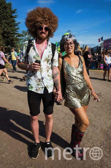 Открылся фестиваль Glastonbury-2017. Фото Getty